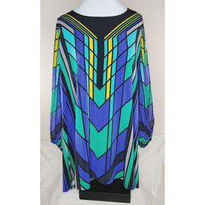 EUC Art Deco Inspired Top